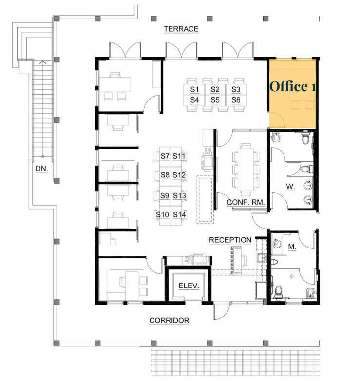 KeySpace   Private Office 1