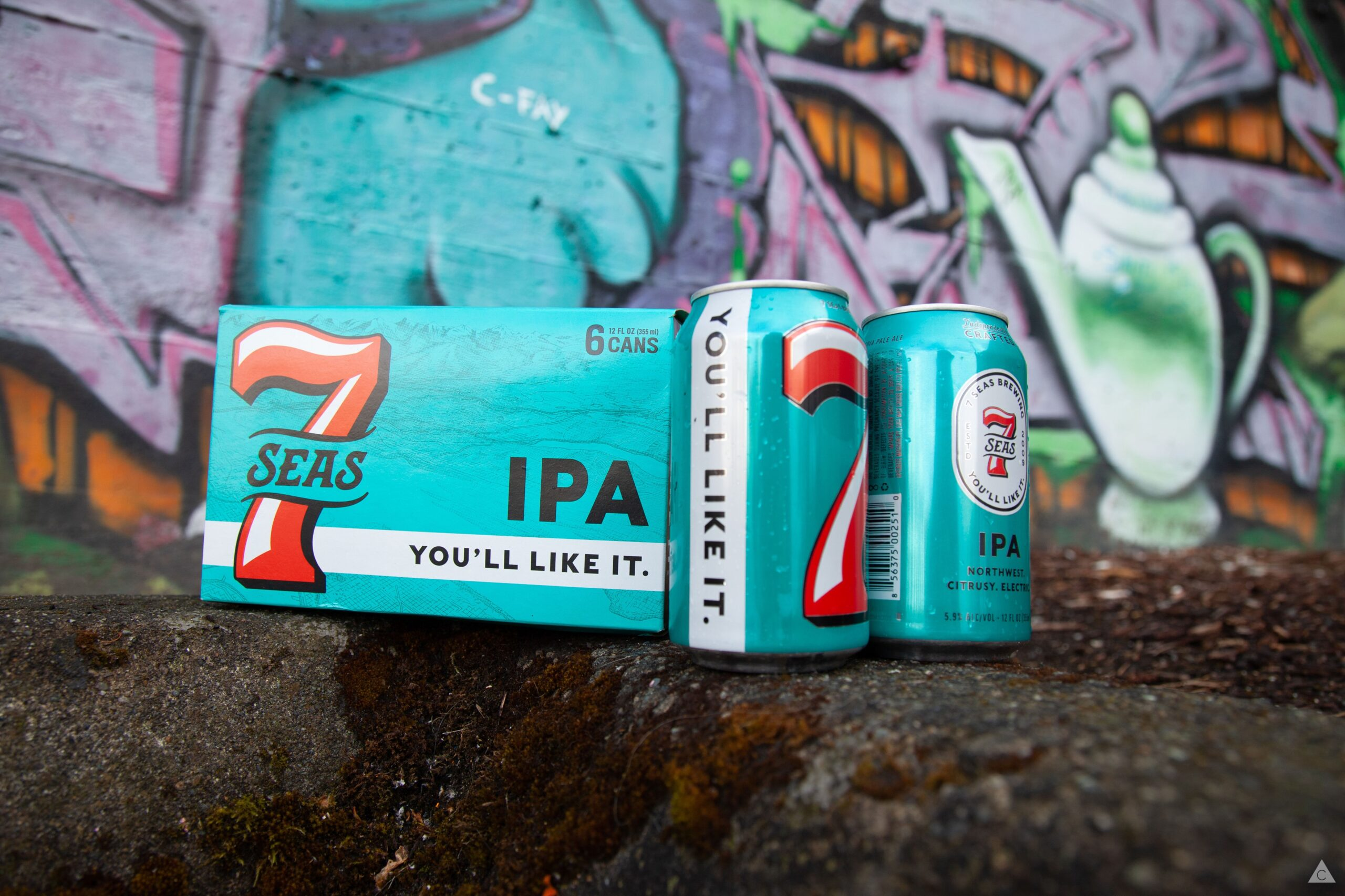 7 Seas Brewing Co Product Photography