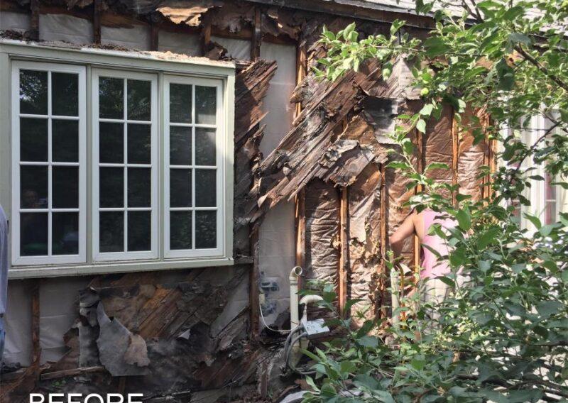 Exterior remodel Minneapolis before