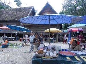 A market in Chiang Mai, Thailand.