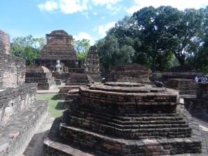 Sukhothai's ritual center, Thailand