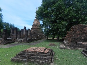 Wat Chang Lom, Sukhothai, Thailand.