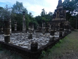 Wat Khao Phra Bat Noi, Sukhothai, Thailand.