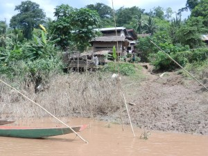A village in Laos.