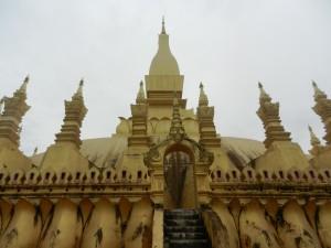 Wat That Luang, Vientiane, Laos.