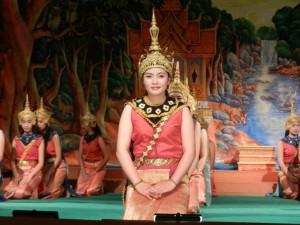 Enacting the Ramayana in Luang Prabang, Laos.
