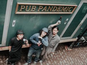 A Drunk Pandemic