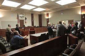 Inside OC Courtroom