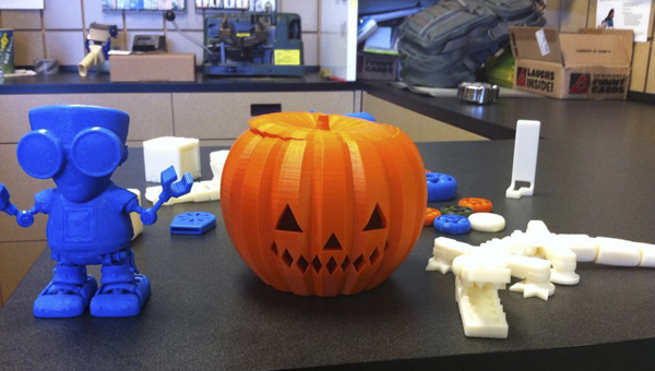 Library, UPS introduce teens to 3D printing