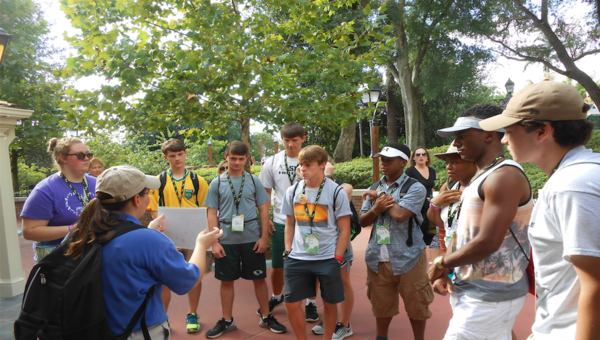 Shades Mountain students learn at Disney
