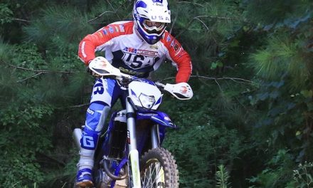 Trent Whisenant of Hoover takes motorcycle hobby overseas