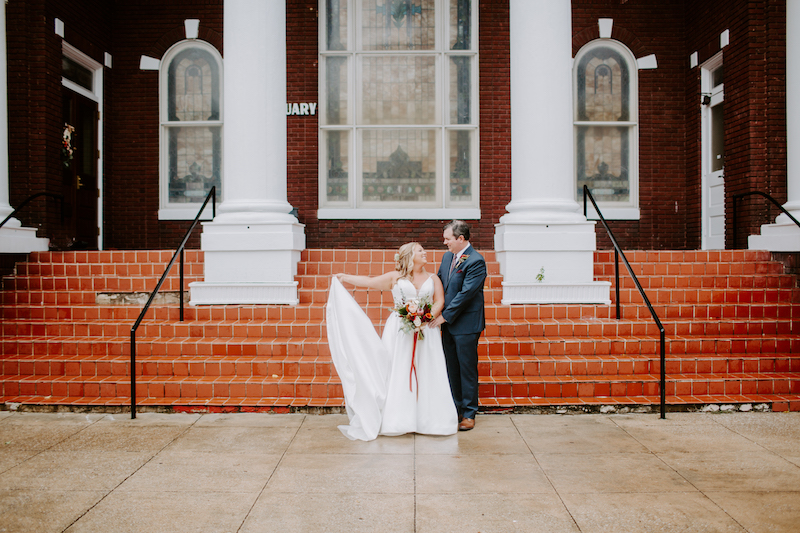 Meagan Campbell & Russ Whitt: A Birmingham Wedding