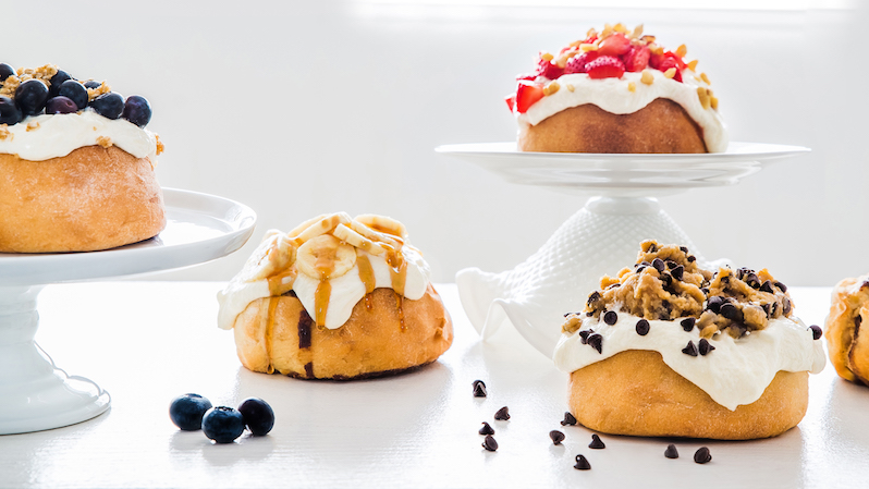 A Taste of the New Cinnaholic Bakery