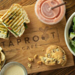 Locally Sourced at Taproot Café