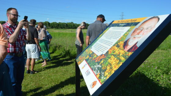 Orlan Love Prairie Dedication