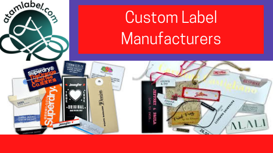 Custom Label Manufacturers