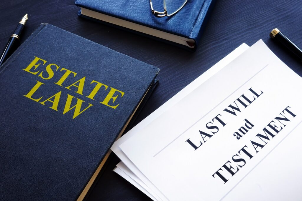 last will and testament in a court