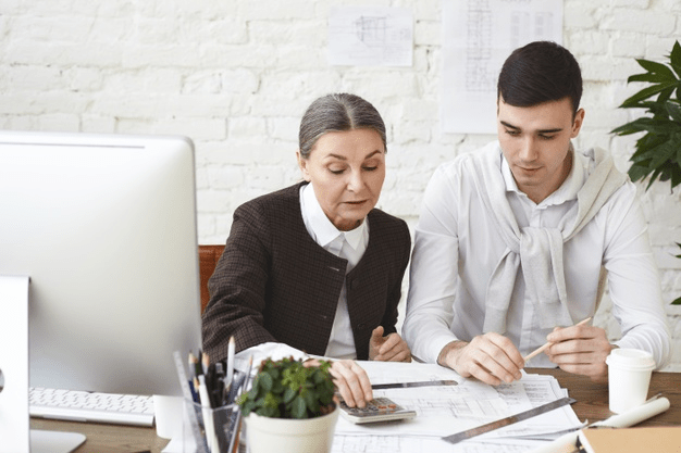 A divorce lawyer helping a person separate and update their estate after divorce.