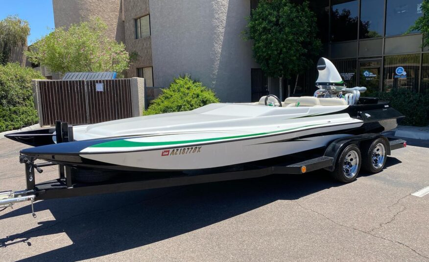 21 foot Daytona Eliminator Jet Boat