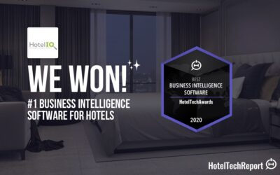 HotelIQ Named Best Business Intelligence Software in the 2020 HotelTechAwards