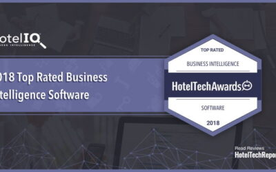 HotelIQ Named 2018's Top Rated Business Intelligence Software in the HotelTechAwards