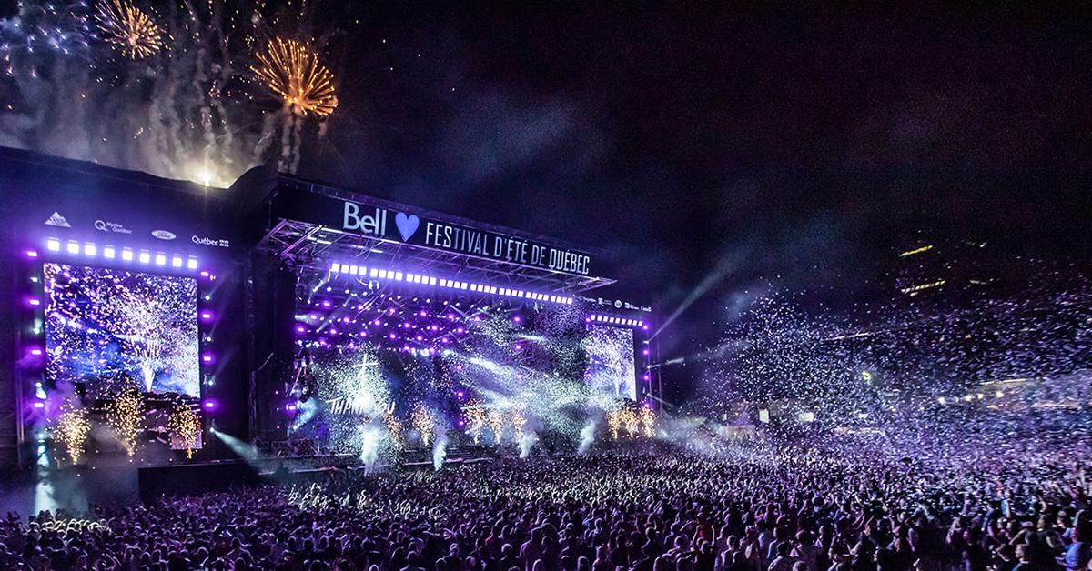 Unisson Structures (Quebec City Summer Festival)