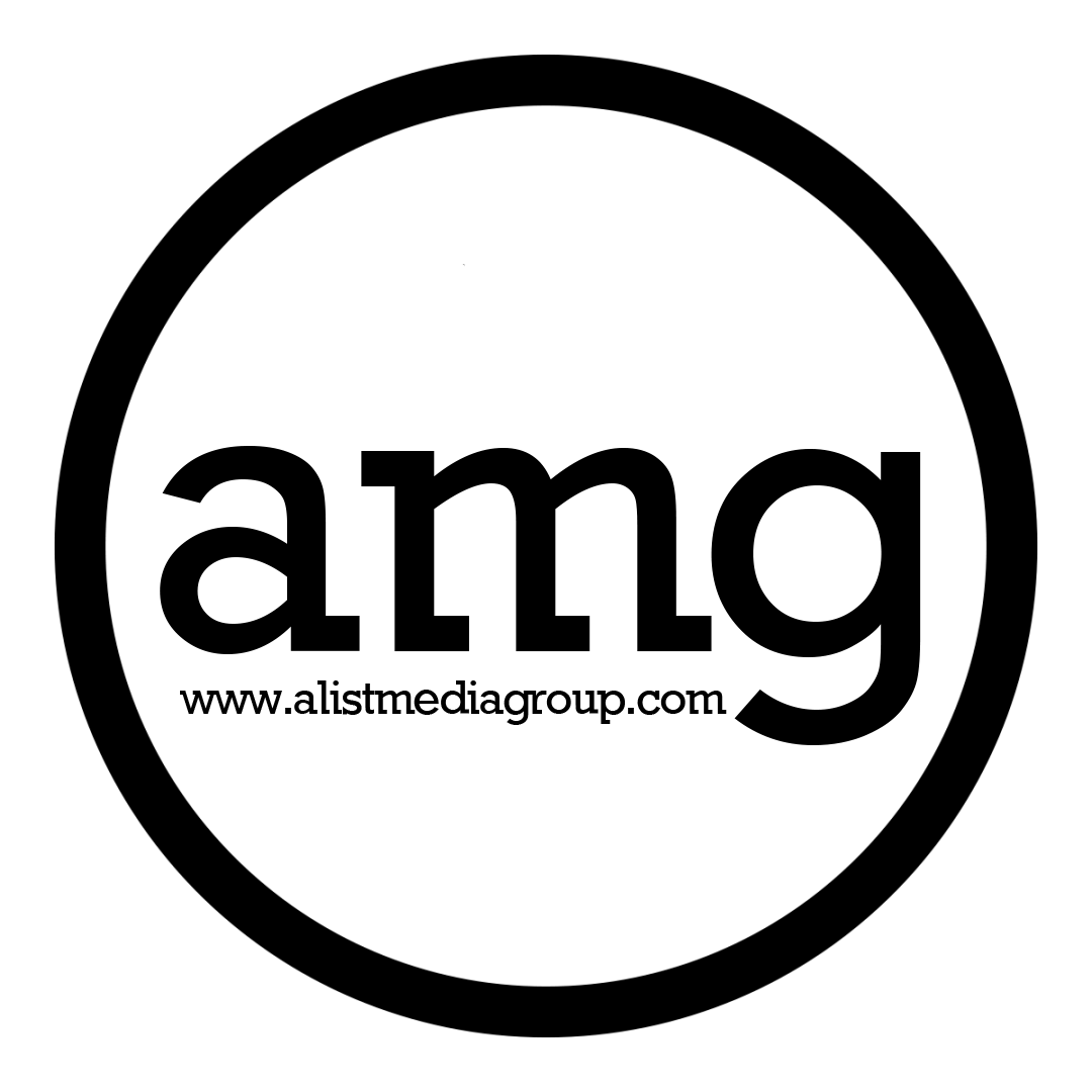 alist circle logo black