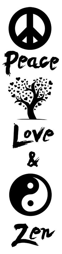 Peace, Love & Zen
