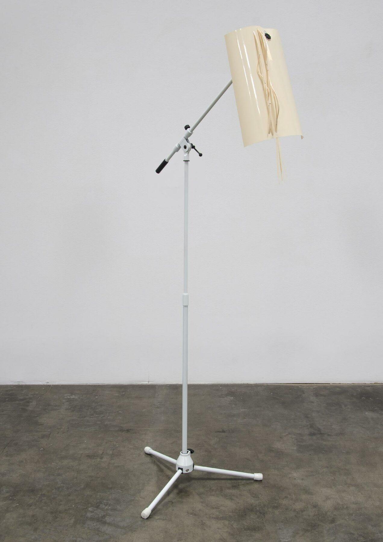 Optic Nerves, plastic, beige, cream, adjustable stand