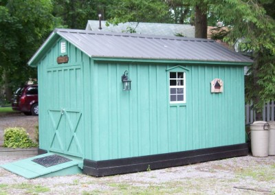 Amish Shed - That's Bright!!!