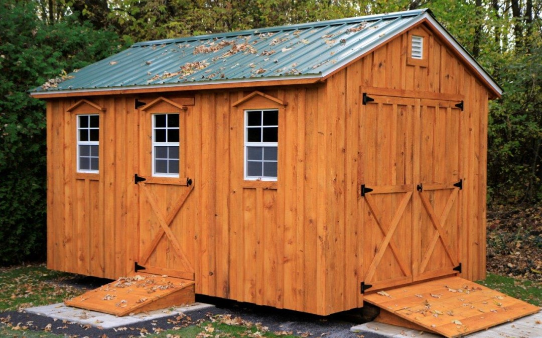 Amish Shed Kits NOW Available!!!