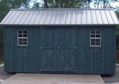 Amish Shed - Little Blue