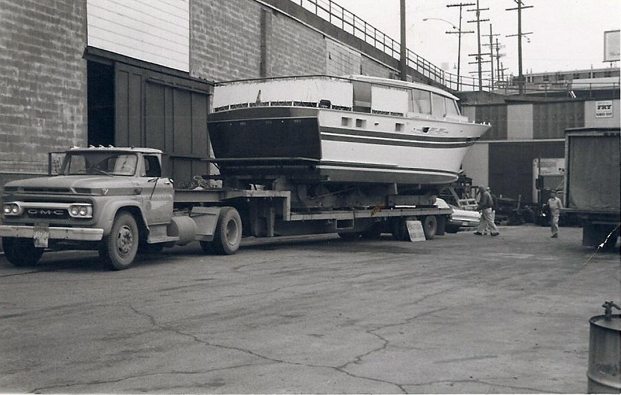 Feb 1962 Freemont Bridge to Bryant Marina Chris Craft
