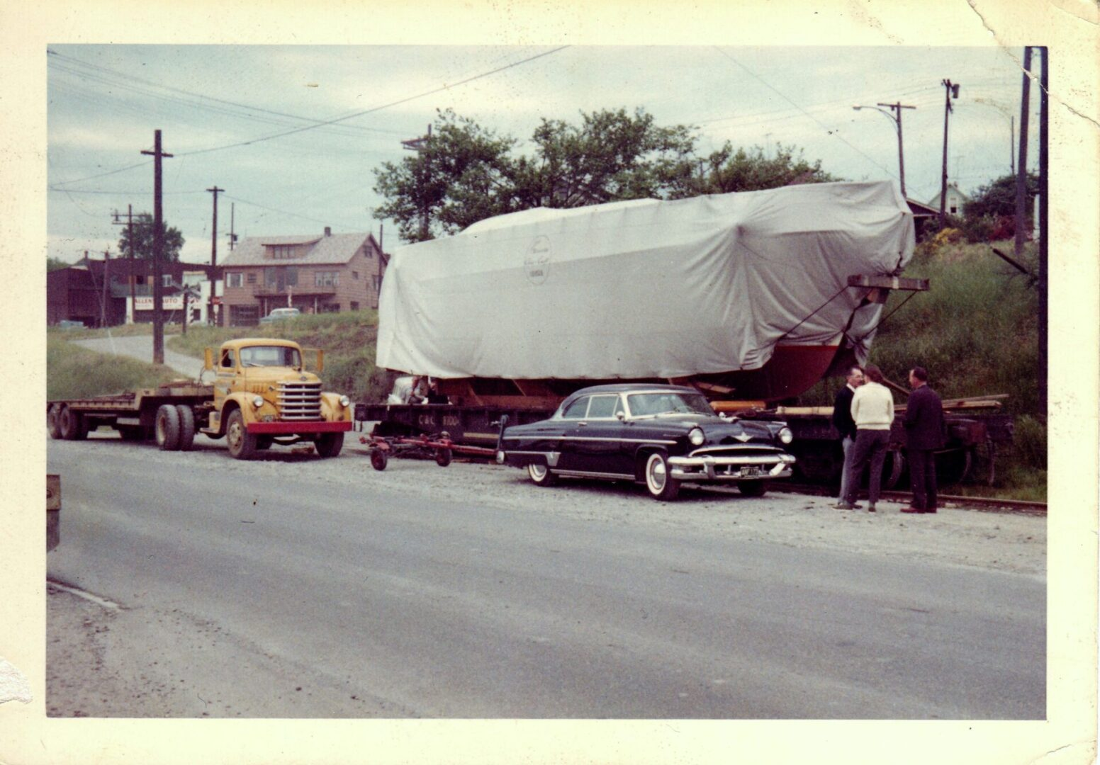 Rail Yard 1960s