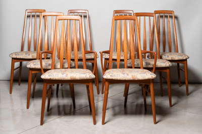 Set of 8 Koeford Hornslet Eva Chairs - $2800