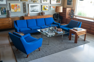Folk Ohlsson for Dux Sofa/Pair of Chairs - $2400/$1800
