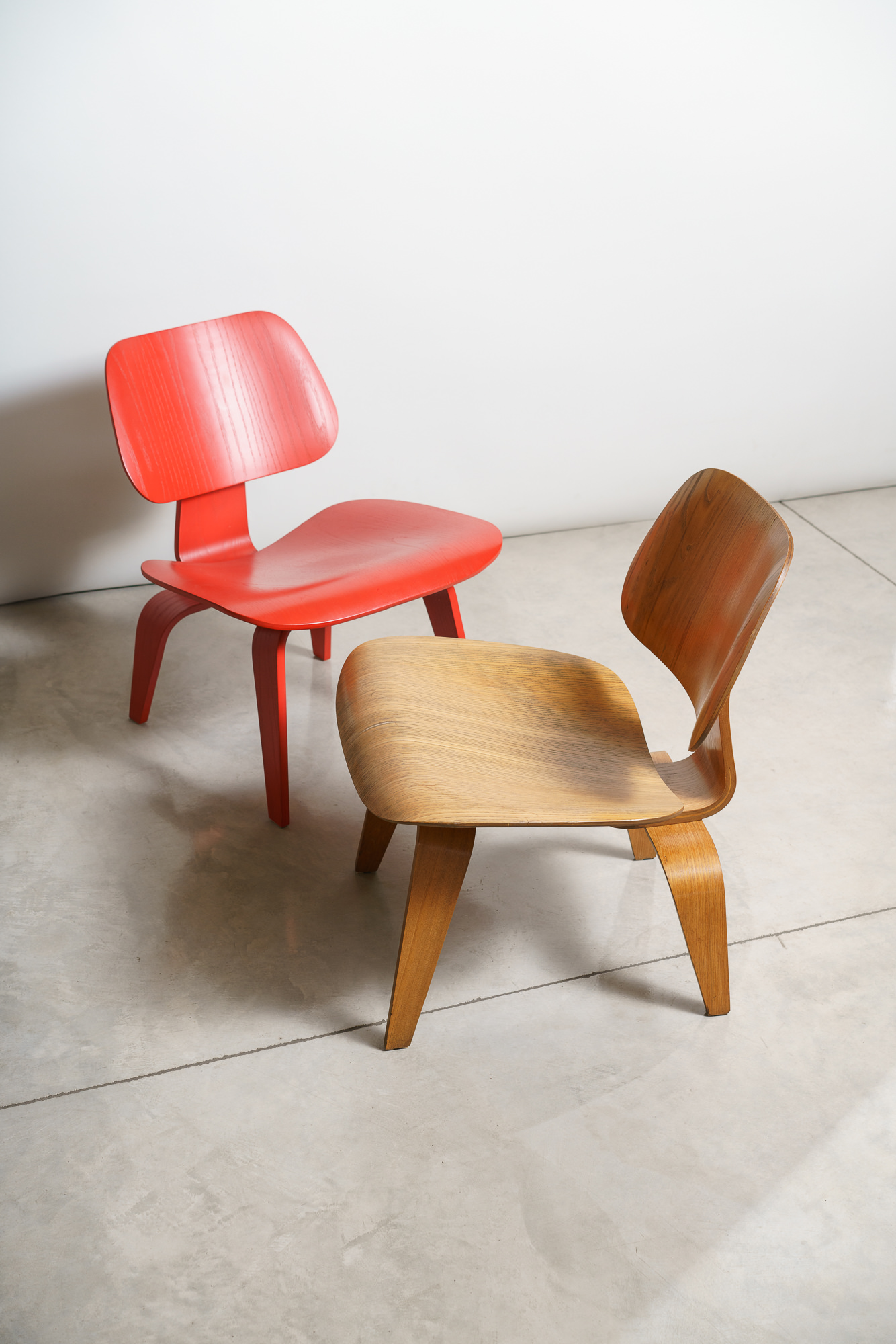 Eames LCW Chairs