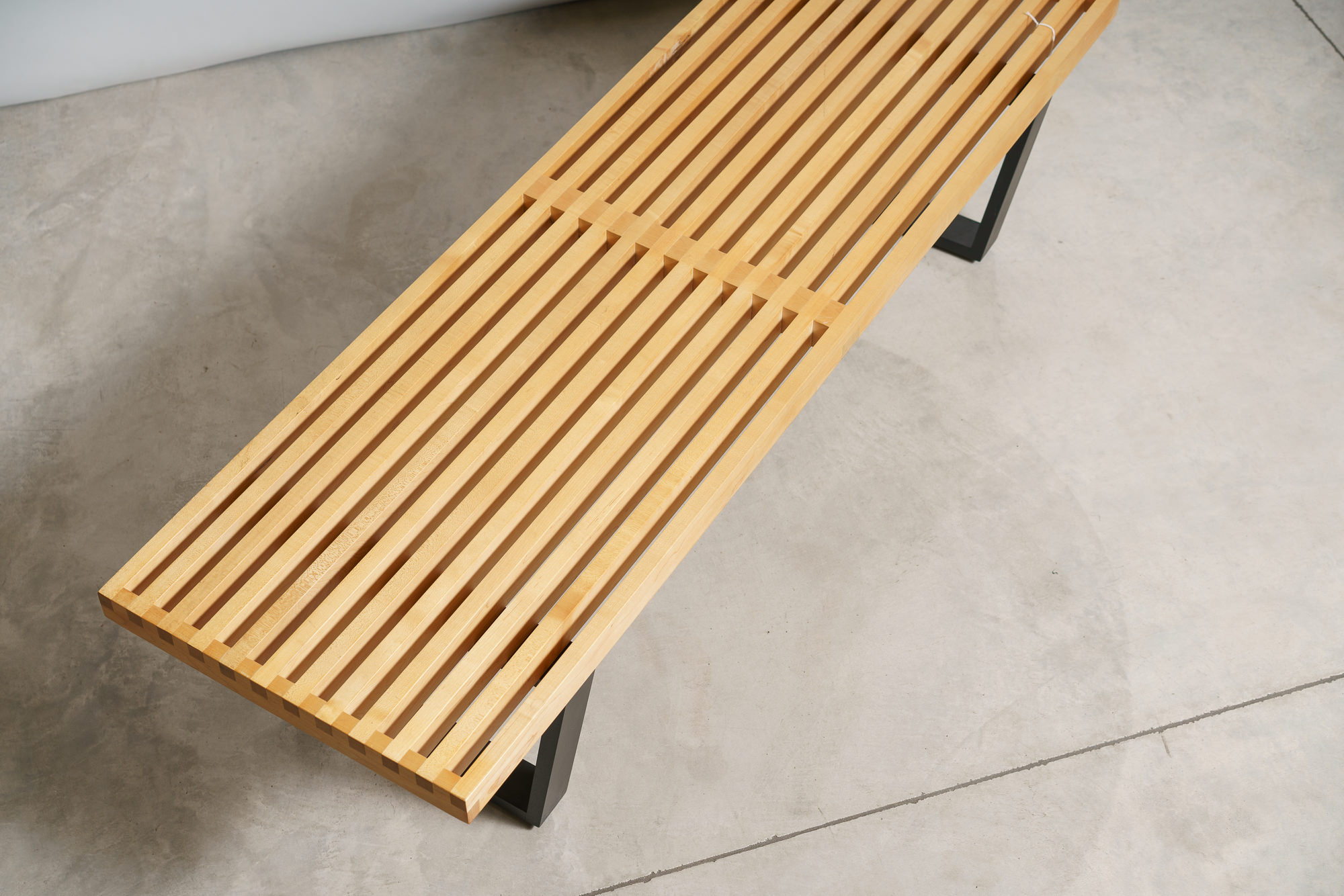 George Nelson Slatted Bench - $895