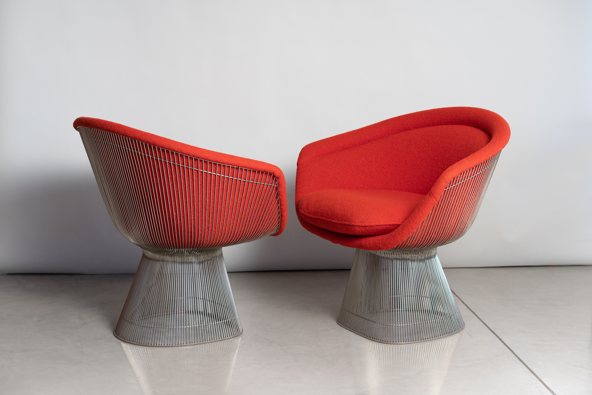 Knoll Platner Chairs - $5400