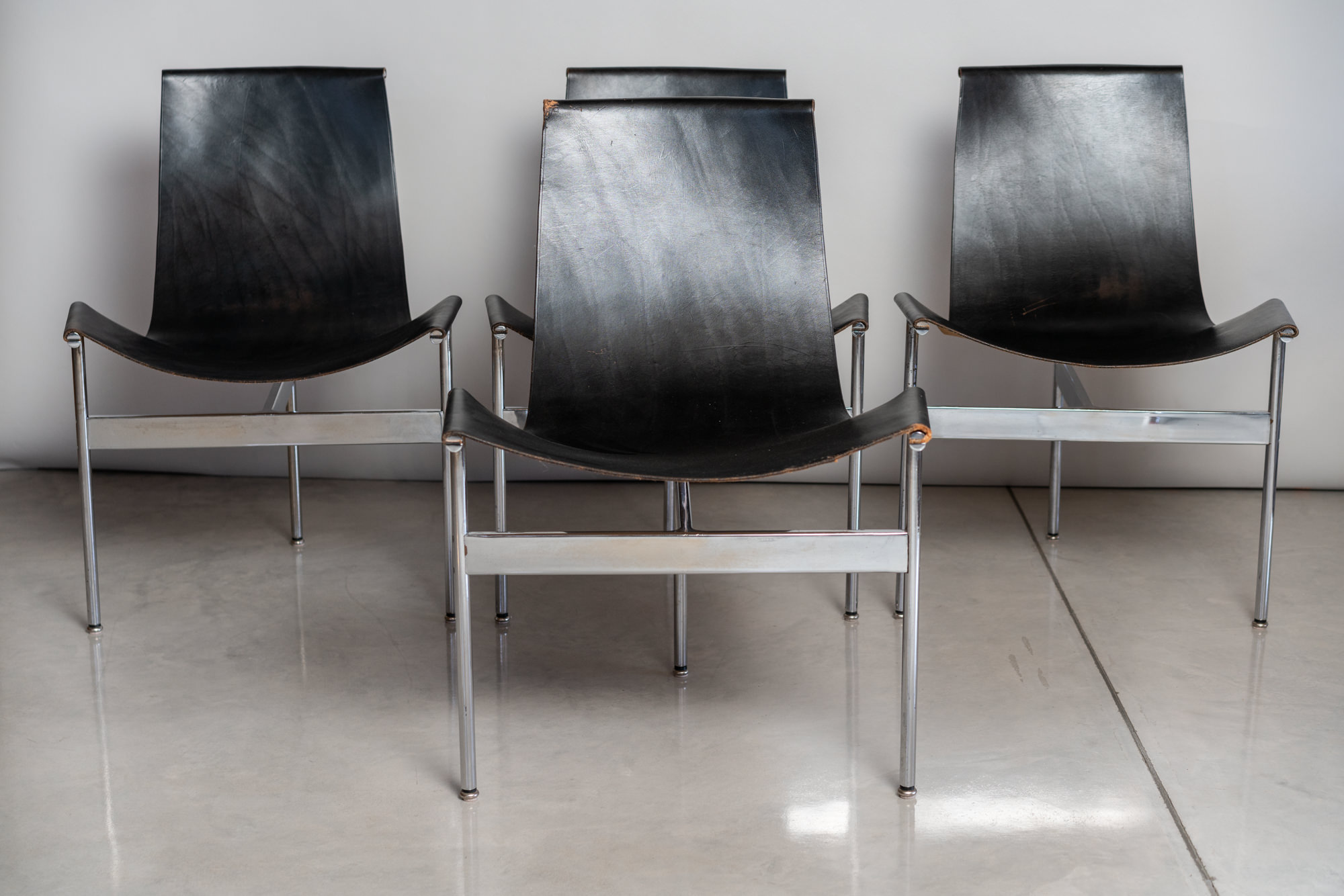 Set of 4 Laverne T-Chairs - $2800
