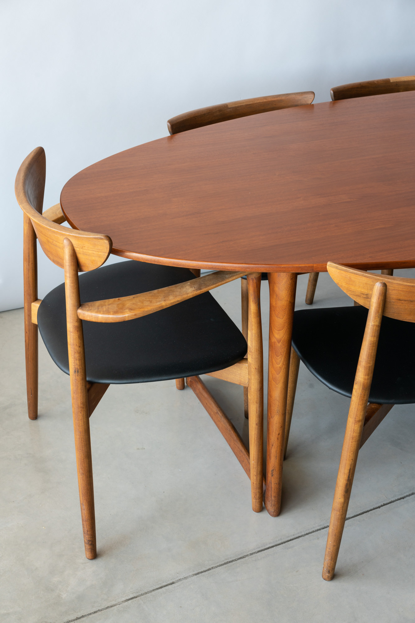 Ole Wanscher for Moreddi Dining Table and Chairs - $4200
