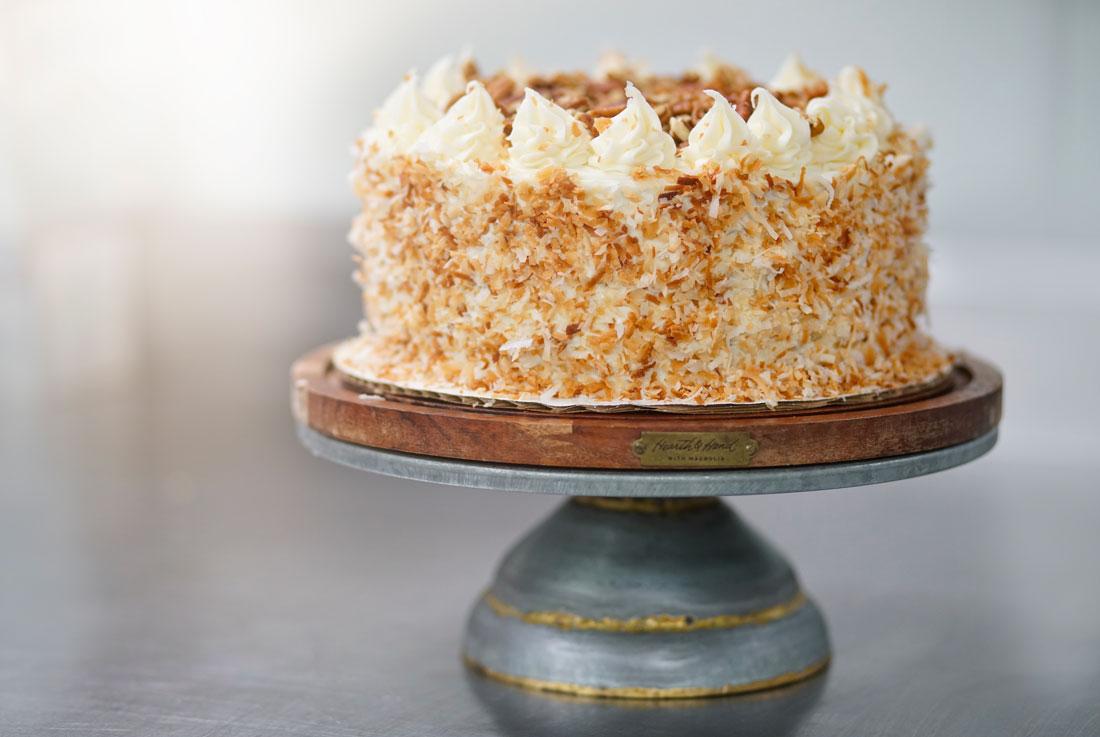 Brick House Cafe Pecan cake