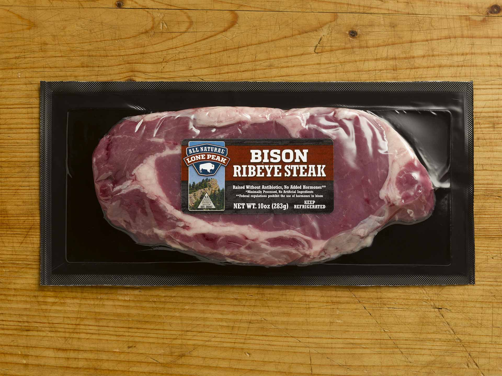 Bison Ribeye Steak