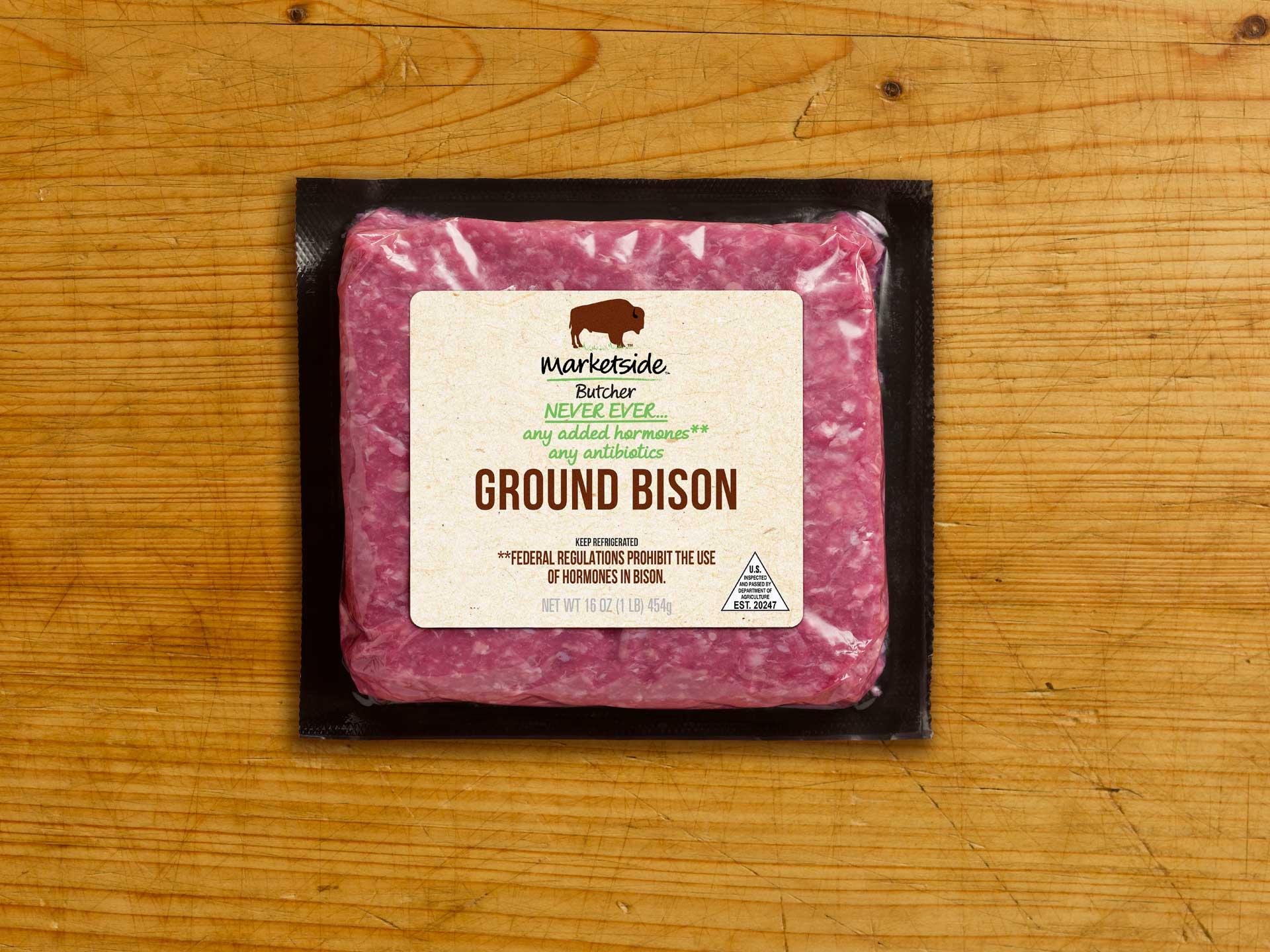 Marketside Butcher Ground Bison