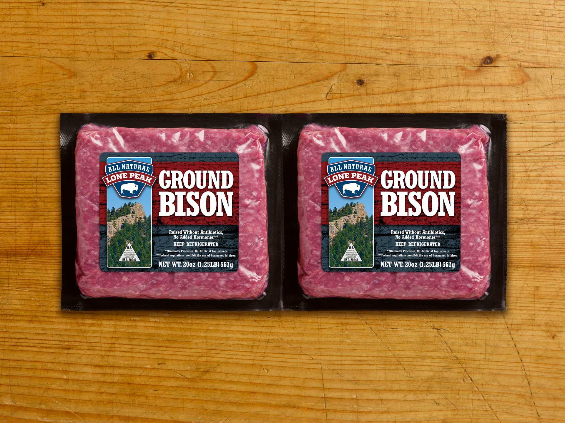 Lone Peak Ground Bison