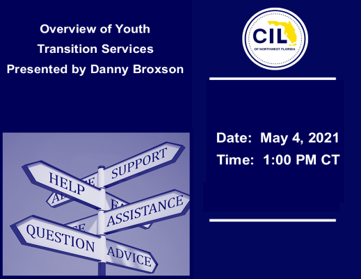 Overview of Youth Transition Services Presenter: Danny Broxson