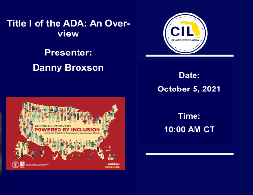 10-5-21 Overview of T1 ADA Danny Broxson