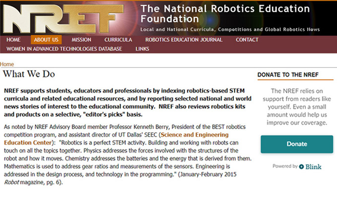 National Robotics Education Foundation (NREF)