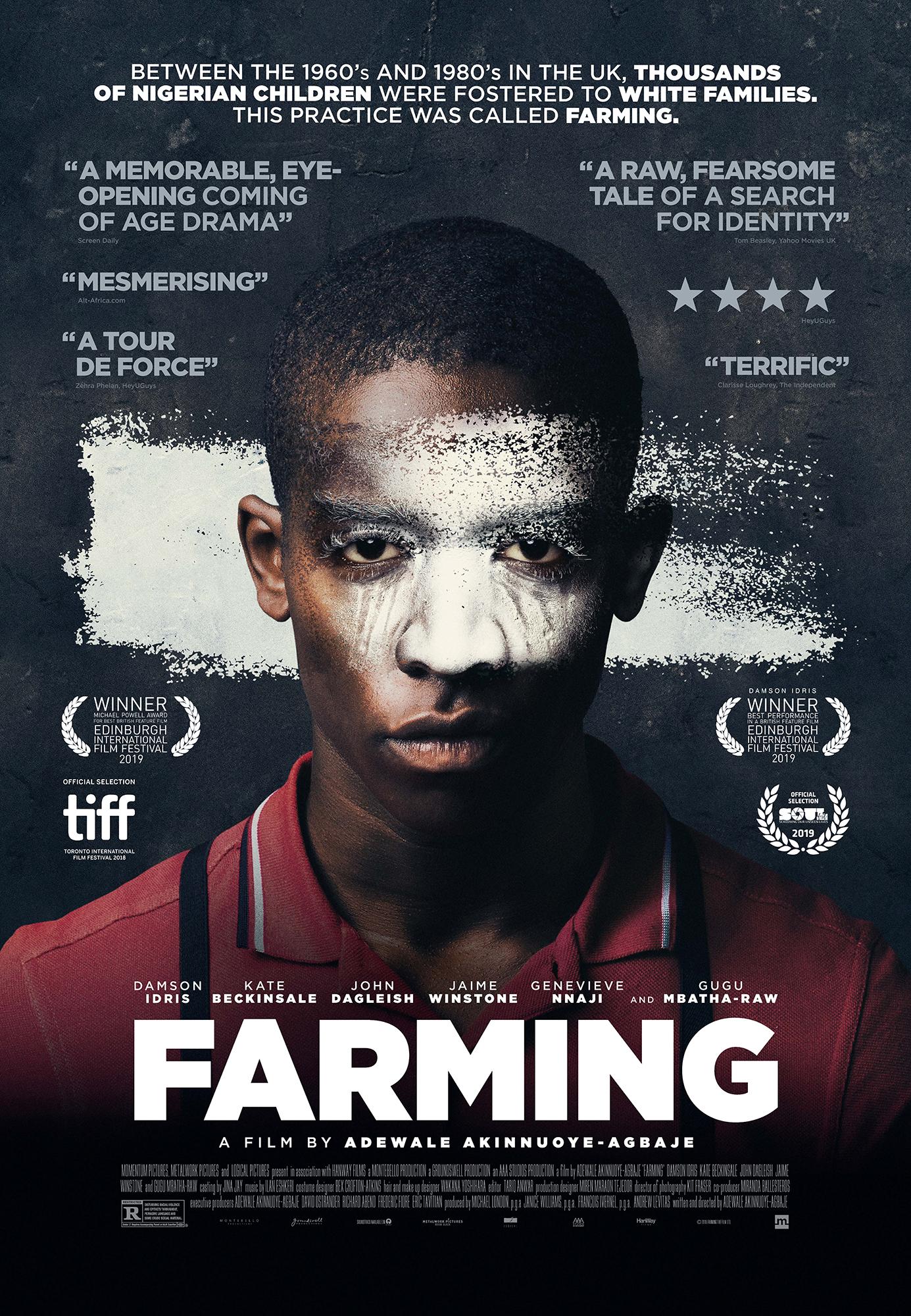 Farming movie poster