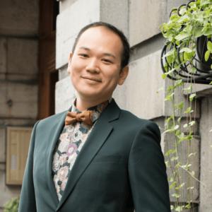 gay asian dad bow tie